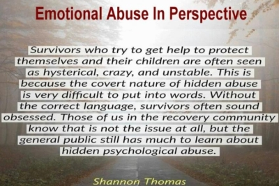 Emotional Abuse In Perspective
